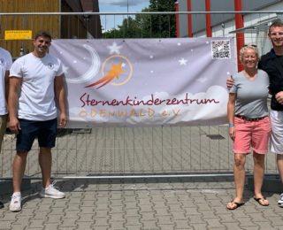 Summer Stuntfest – Organisatoren spenden für einen guten Zweck.