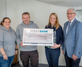 Edeka Mitarbeiter unterstützen Sternenkinderzentrum Odenwald e.V.